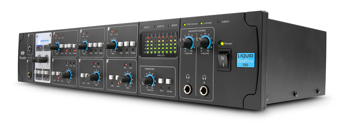 FOCUSRITE LIQUID SAFFIRE 56 FIREWIRE INTERFACE