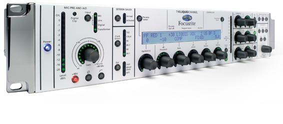 FOCUSRITE LIQUID CHANNEL PRE-AMPLIFIER COMPRESSOR